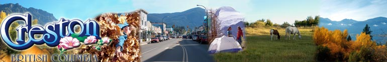 Creston British Columbia, Retirement Community Creston BC Rockies Kootenays