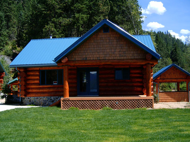 Kootenay Lake Log Cabin For Sale Private Home And Property